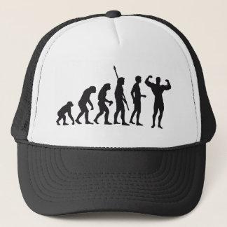 evolution bodybuilding trucker hat