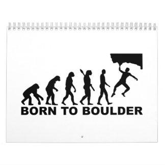 Evolution Born to Boulder Calendar