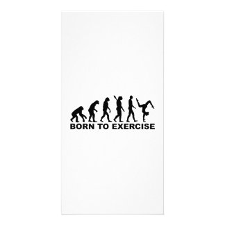 Evolution Born to exercise Card