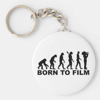 Evolution Born to film Keychain