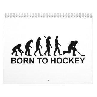 Evolution Born to Hockey Calendar