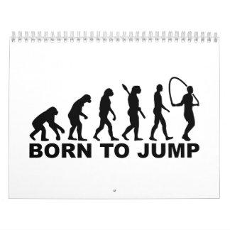 Evolution born to Jump rope Calendar
