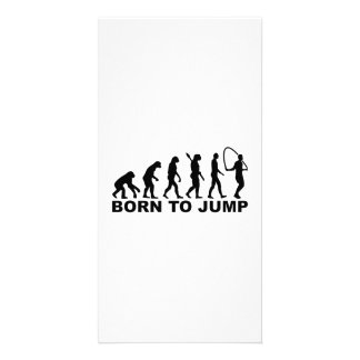 Evolution born to Jump rope Card