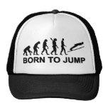 Evolution born to jump ski jumping hats