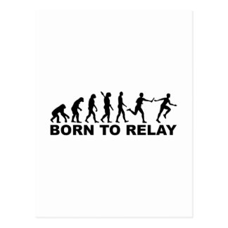Evolution born to relay postcard