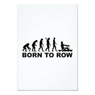 Evolution born to row card