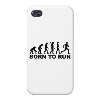 Evolution Born to run Case For iPhone 4