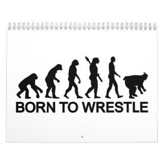 Evolution born to wrestle Sumo Calendar