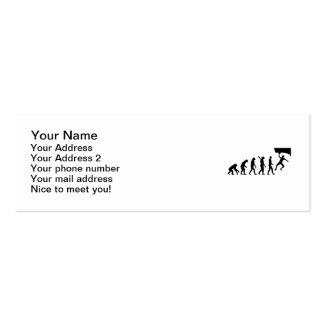 Evolution Bouldering Double-Sided Mini Business Cards (Pack Of 20)