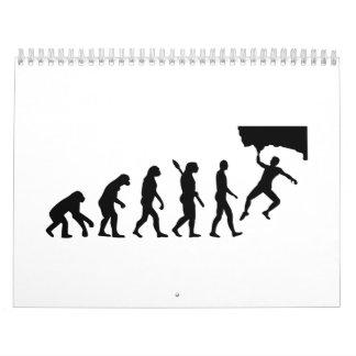 Evolution Bouldering Calendar