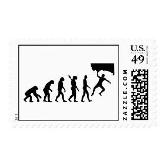 Evolution Bouldering Stamps