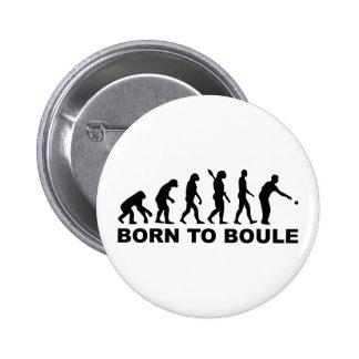 Evolution Boule Petanque 2 Inch Round Button