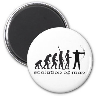 evolution bow and arrow magnet