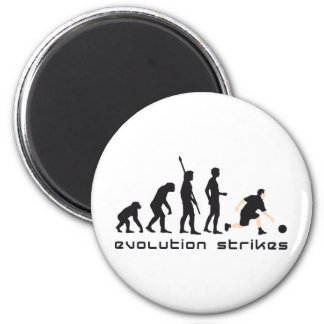 evolution bowling fridge magnets