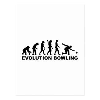 Evolution Bowling Postcard