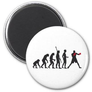 evolution boxing refrigerator magnet