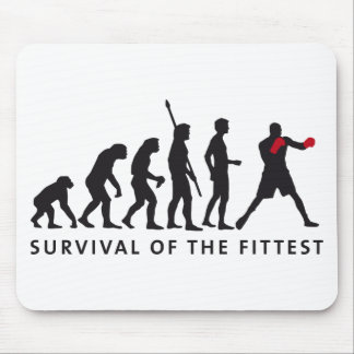 evolution boxing mouse pad