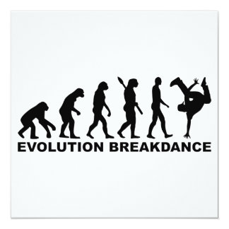 Evolution Breakdance Card