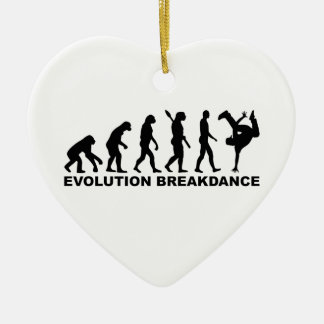 Evolution Breakdance Ceramic Ornament