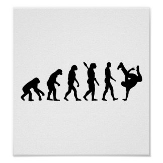 Evolution Breakdance Poster