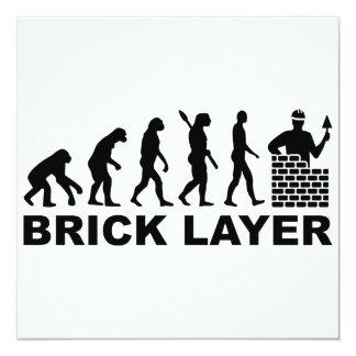 Evolution brick layer card