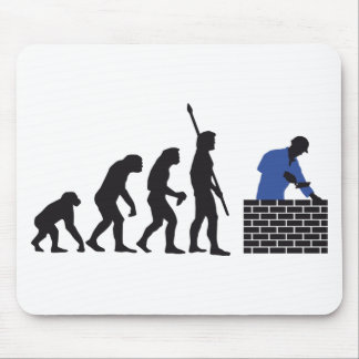 Evolution bricklayer A 2C Mouse Pad
