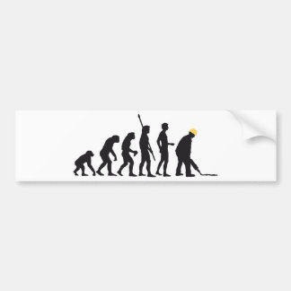evolution builder bumper sticker