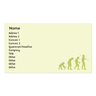 Evolution - Business Business Card Template