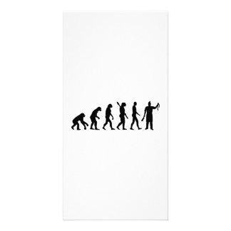 Evolution butcher card