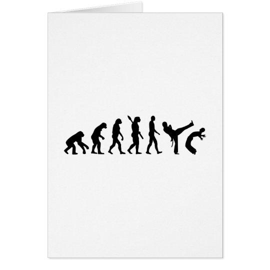Evolution Capoeira Card