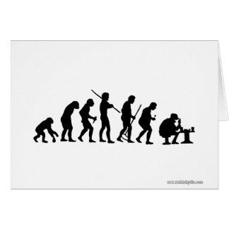 Evolution... Card