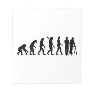 Evolution caregiver scratch pads