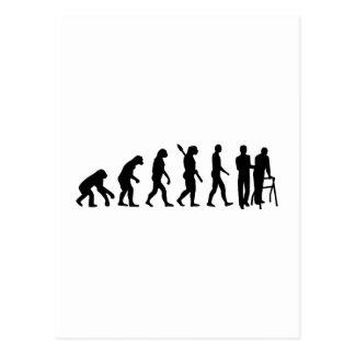 Evolution caregiver postcard