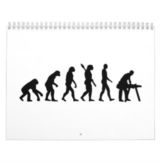 Evolution Carpenter Calendar