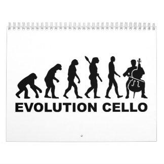 Evolution Cello Calendar