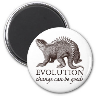 Evolution change can be good! magnet