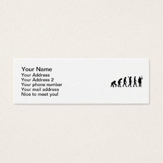 Evolution Chemist Mini Business Card