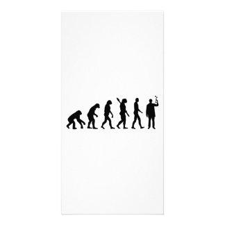 Evolution Chemist Custom Photo Card