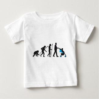 Evolution child cart 03-2014 men B 2C png Baby T-Shirt
