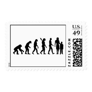 Evolution childcare worker postage