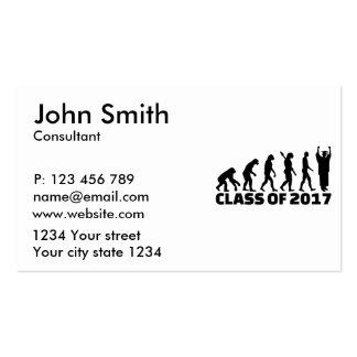 Evolution Class of 2017 Business Card
