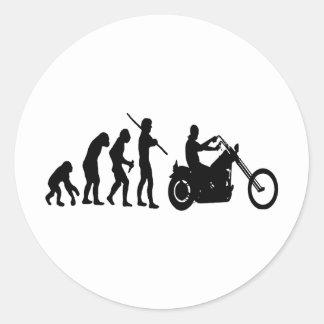 Evolution Classic Round Sticker