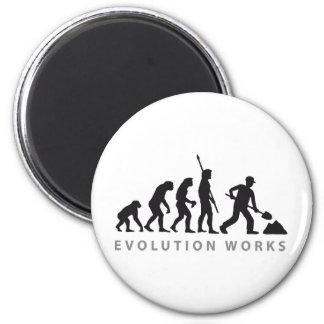 evolution construction more worker magnet