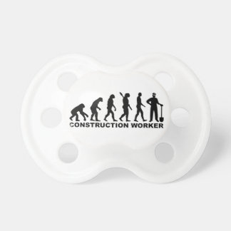 Evolution construction worker pacifier