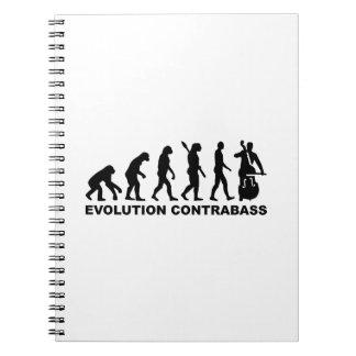 Evolution Contrabass Notebook