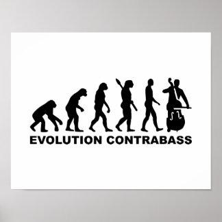Evolution Contrabass Poster