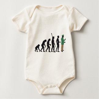 evolution copilot baby bodysuit