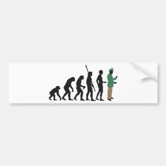 evolution copilot bumper sticker