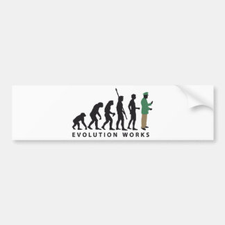 evolution copilot bumper sticker