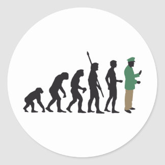 evolution copilot classic round sticker